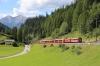 RhB EMU 3511 departs Bergun with RE1152 1502 St Moritz - Chur