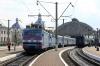 UZ VL40's 1378-2 & 1391-2 at L'viv with 42 1256 Truskavets - Dnipropetrovsk; after replacing VL10M-1485