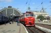 UZ 2M62K-1163b/a wait to depart L'viv with 606 1545 L'viv - Rakhiv