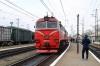 UZ 2M62K-1163b/a wait to depart Khodoriv with 606 1545 L'viv - Rakhiv