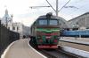 UZ 2M62-1014a/b at L'viv after arrival with 144 1351 Vorokhta - Kyiv Pasazyrski