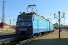 UZ VL10-1487 waits to depart L'viv with 41 1430 (P) Dnipropetrovsk - Truskavets
