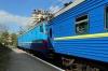 UZ VL10-1487 at Truskavets after arrival with 41 1430 (P) Dnipropetrovsk - Truskavets