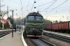 UZ 2M62-0952b/a arrive into Khodoriv with 144 1351 Vorokhta - Kyiv Pasazyrski