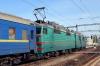 UZ VL80T-2027 (1&2) waits to depart Kyiv Pasazyrski with 148 1620 Kyiv Pasazyrski - Odesa Holovna