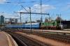 UZ ChME3-5516 brings the stock into Kyiv Pasazyrski that will form 67 1730 Kyiv Pasazyrski - Warszawa Zachodnia