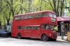 Ukraine, Kiev - London Routemaster bus just off Independence Square