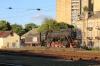 Vilnius, Lithuania - steam loco plinthed at Vilnius station
