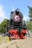 Cherniakhovsk, Kaliningrad, Russia - steam loco plinthed at Cherniakhovsk station