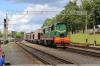 BCh ChME3T-7095 shunting wagons at Hrodna