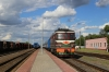 BCh TEP60-0448 at Masty having roun around 058B 1733 Hrodna - St Petersburg Vitebski
