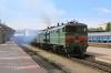 BCh 2TE10M-2807B/A run through Vitebsk with a freight