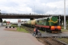 BCh ChME3-3899 shunting in Vitebsk station