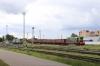BCh ChME3-5473 shunting in Vitebsk yard