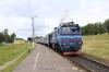 BCh 2M62U-0271B departs Lucosa with 7171 1448 Vitebsk - Orsha