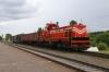 BCh TME1-036 runs through Lucosa with a short trip freight