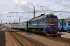 BCh 2M62-1227A at Orsha after arrival with 6534 0858 Krichev 1 - Orsha