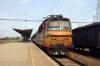 ZSSK 240142 at Leopoldov with Os3018 1256 Leopoldov - Malacky