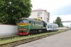 BCh M62-1161 at Mogilev 1 with a single car Pesa DMU; no idea what this was all about
