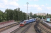 BCh TEP70-0313 arrives into Mogilev 1 with 689F 1345 Gomel - Vitebsk