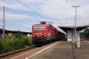 DB 143367 departs Floha with RB17215 0939 Zwickau - Dresden Hbf
