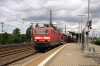 DB 143359 arrives into Dresden Freiberger Strasse with 31733 1146 Meissen Triebischtal - Schona