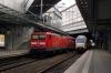 DB 112107 at Berlin Sudkreuz with RE4361 1234 Rostock - Lutherstadt Wittenberg