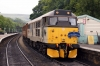 31271 waits to depart Grosmont with the first departure of the day; the 0937 Grosmont - Pickering