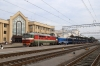 BCh TEP70-0227 about to depart Gomel with 083B 1716 Gomel - St Petersburg