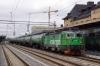 Green Cargo Rd2 1097 awaits a path at Uppsala