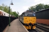 31271 at Pickering during the NYMR diesel gala, waiting to depart with the 1504 Pickering - Grosmont with 20142 on the rear
