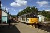 31271 at Grosmont during the NYMR diesel gala, waiting to depart with the 1635 Grosmont - Pickering