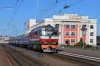 BCh TEP70-0265 waits to depart Orsha with 606B 1715 (P) Brest - Vitbesk