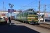 BCh VL80S-549 runs through Orsha with a freight