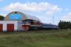 BCh TEP70-0224 departs Mogilev 1 with 689B 0815 Vitebsk - Gomel