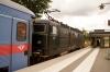 SJ T&T Rc6's 1352 & 1380 depart Knivsta with 844 1611 Stockholm Central - Uppsala