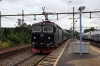 SJ T&T Rc6's 1350 & 1382 depart Marsta with 851 1641 Uppsala - Stockholm Central