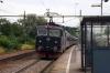 SJ T&T Rc6's 1382 & 1350 depart Marsta with 853 1711 Uppsala - Stockholm Central