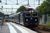 SJ T&T Rc6's 1369 & 1362 arrive into Knivsta with 855 1741 Uppsala - Stockholm Central