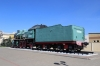 Steam loco SU250-43 plinthed at Zlobin