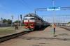 BCh TEP70-0425 arrives into Zlobin with 061B 2040 (P) St Petersburg Vitebski - Chisinau (Moldova)