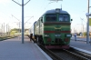 UZ 2M62-1247B about to be removed from 061B 2040 (P) St Petersburg - Chisinau at Koziatyn 1; there was no visible marking to distinguish the A or B unit so i had to look in the cab!
