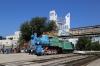 Steam loco ER-785-63 plinthed at Chisinau