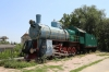 Steam Loco plinthed in a park near Ungheni station