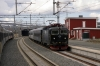 SJ RC6 1397 runs through Bjornfjell with NT93 1240 Narvik - Stockholm Central