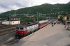 SJ Rc6 1326 at Narvik (Norway) after arrival with NT94 1755 (P) Stockholm Central - Narvik