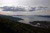 Views of Narvik, Norway, from Narvikfjellett having gone up by the cable car