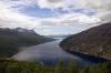 Taken from NT94 1755 (P) Stockholm - Narvik approaching Narvik, Norway