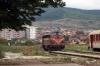 HK 2640003 ex 007 (NSB Di3 3641) at Pejë after arrival with TL4201 0750 Prishtinë – Pejë