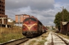 2640003 ex 007 (NSB Di3 3641) waits to depart Prishtinë with TL4401 1430 Prishtinë - Fushë Kosovë